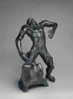 Огюст Роден. Падающий человек