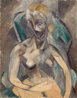 Пабло Пикассо. Молодая дама