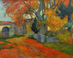 Paul Gauguin. Walk along Alaskan, Arles