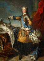 Жан-Батист ван Лоо. Людовик XV, король Франции и Наварры