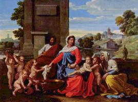 Никола Пуссен. Святое семейство