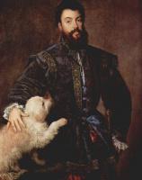 Тициан Вечеллио. Портрет Фредерико II Гонзага