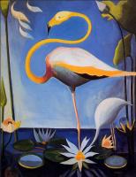 Джозеф Стелла. Фламинго
