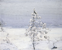Stepan Grigorievich Pisakhov. Loose snow ...