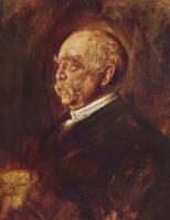 Франц фон Ленбах. Князь Отто фон Бисмарк