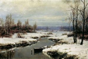 Иван Августович Вельц. Начало зимы
