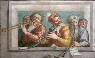 Giorgio Vasari. Musicians