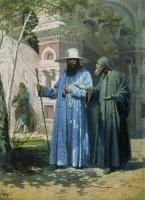 Vyacheslav Grigorievich Schwartz. Patriarch Nikon in the New Jerusalem