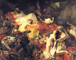 Смерть Сарданапала I (1827)
