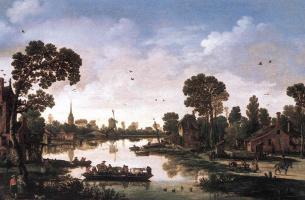 Даниэль ван Хейл. Пейзаж