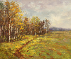 Andrew Shararin. Early autumn. Not far from Gremyachy key