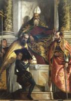 Паоло Веронезе. Святой Антоний Аббат со святым Корнилием и святым Киприаном