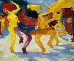 Эмиль Нольде. Танец вокруг золотого тельца