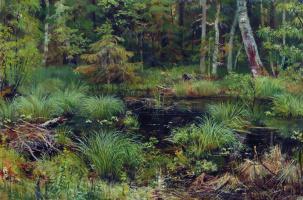 Ivan Ivanovich Shishkin. Spring in the forest