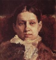 Valentin Aleksandrovich Serov. Portrait Of V. A. Repina