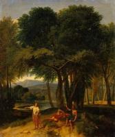 Jean-François Millet. Rest in the forest