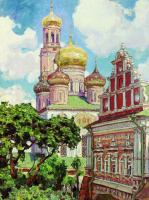 Аполлинарий Михайлович Васнецов. Симонов монастырь
