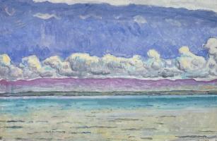 Ferdinand Hodler. Lake