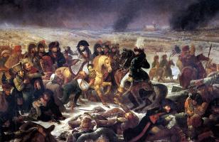 Антуан-Жан Гро. Наполеон в битве