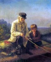 Василий Григорьевич Перов. Рыбная ловля