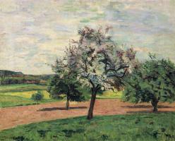 Арман Гийомен. Цветущие яблони, Иль-де-Франс