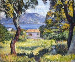 Henri Lebasque. A view of the Esterel