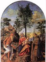 Джованни Баттиста Чима да Конельяно. Мадонна под апельсиновым деревом