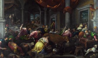 Якопо Бассано. Изгнание из храма