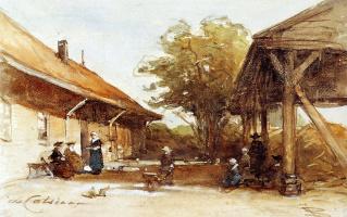 Йоханнес Босбум. Фермы в Схевенингене