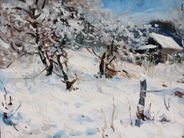 Eugene Buchne. Snow in April