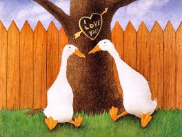 Уилл Буллас. Влюбленные утки