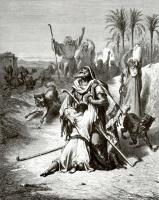 Поль Гюстав Доре. Иллюстрация к Библии: Встреча блудного сына с отцом