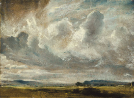 Джон Констебл. Облака над долиной