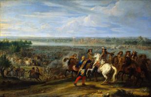 Ван Мейлен. Французская армия