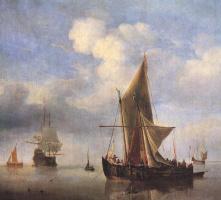 Виллем ван де Вельде Младший. Сюжет 1