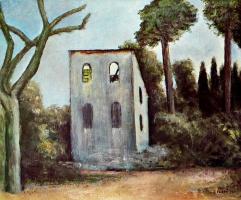 Карло Карра. Заброшенный дом
