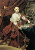 Джузеппе Мария Креспи. Кардинал Просперо Ламбертини