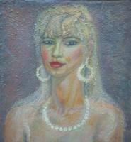 Вячеслав Коренев. Portrait of Alla