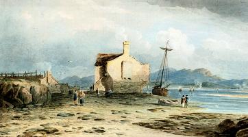 Джон Варли. Лодка на берегу