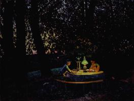Константин Федорович Юон. Августовский вечер. 1922