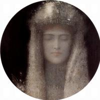 Фернан Кнопф. Серебряная тиара