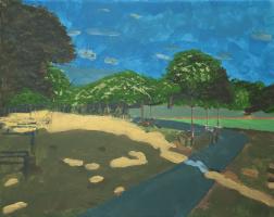 Gertjan Buijs. Jardin du Luxembourg I (near the tennis court)
