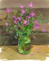 Sergey Alekseevich Makarov. Wildflowers — a Gypsy