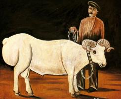Нико Пиросмани (Пиросманашвили). Баран