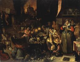 Франс Франкен Младший. Кухня ведьм. 1606