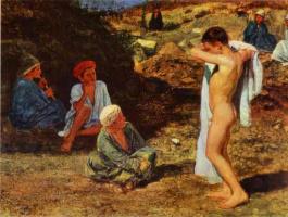Александр Андреевич Иванов. Мальчики в цветных одеждах