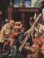 Маттиас Грюневальд. Христос, упавший под тяжестью креста