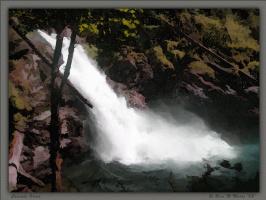 Р. М. Мур. Водопад