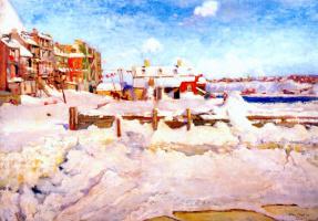 Элсон Кларк. Зима в Квебеке