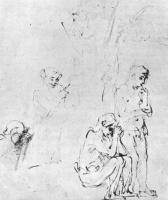 Рембрандт Ван Рейн. Адам и Ева после Грехопадения